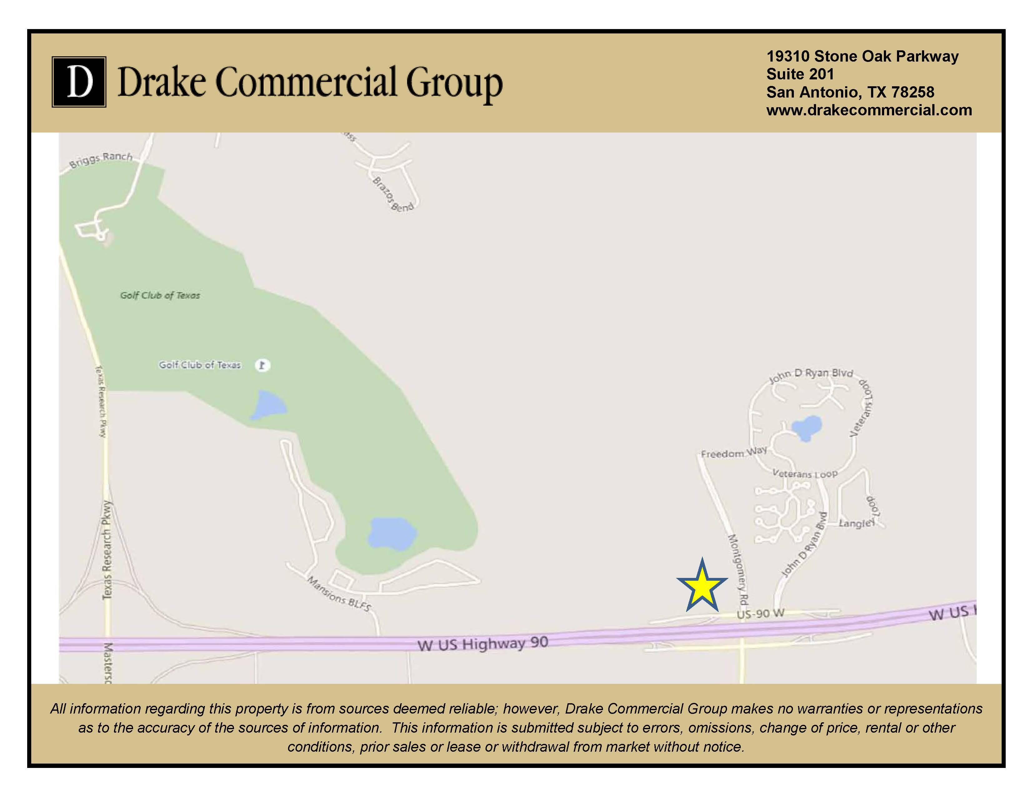 location map layout back to portfolio page contact us for more information on this property san antonio